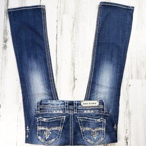 Rock Revival Amy Easy Boot Cut Jean's.  Size 27.